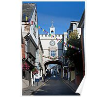 The East Gate, Totnes Poster