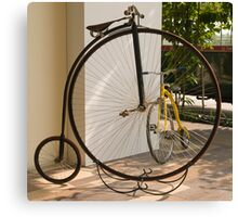 Penny Farthing - Old and New Canvas Print