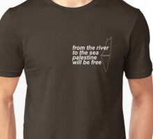 #FREEPALESTINE from the river to the sea  Unisex T-Shirt