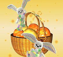 Happy Easter .. bunny style by LoneAngel