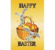 Happy Easter .. bunny style Photographic Print