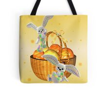 Happy Easter .. bunny style Tote Bag