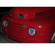 Red Truck Photographic Print