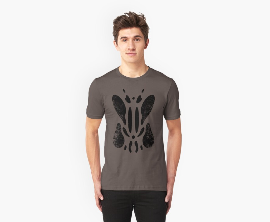 Tell Me What You See (Black Distressed) by Eozen