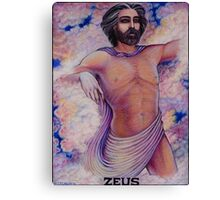 The Greek Gods ~ Zeus Canvas Print