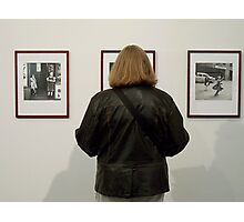 At the Exhibition Photographic Print