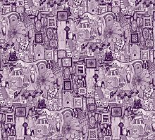 nightmares purple by Sharon Turner