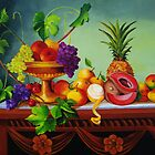 A Gathering of Fruits by Dominica Alcantara