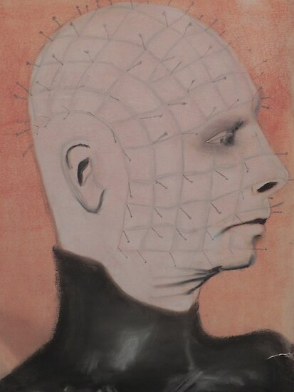 """Pinhead""  by Brandon Walker"