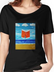 His Jams Drying Women's Relaxed Fit T-Shirt