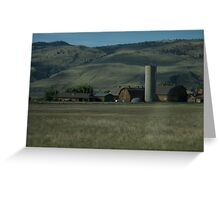 Farm  Greeting Card