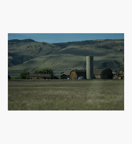 Farm  Photographic Print