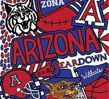 University of Arizona Collage by coreybloomberg