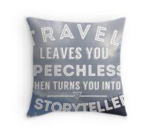 Storyteller Throw Pillow