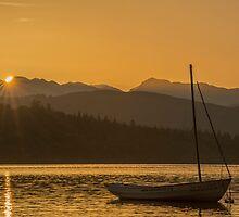 Sunset on Lake Windermere by Nick Jenkins