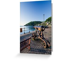Dartmouth Harbour Greeting Card