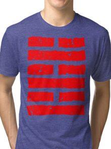 Arashikage Distressed Red Tri-blend T-Shirt