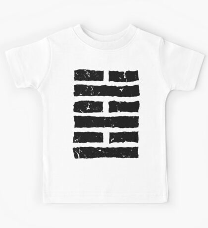 Arashikage Distressed Black Kids Tee