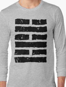 Arashikage Distressed Black Long Sleeve T-Shirt