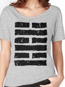 Arashikage Distressed Black Women's Relaxed Fit T-Shirt