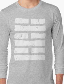 Arashikage Distressed White Long Sleeve T-Shirt