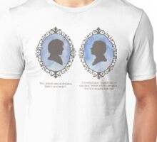 Sherlock Holmes Cameo Unisex T-Shirt