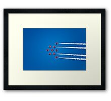 The Red Arrows at Dartmouth Regatta Framed Print