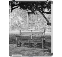 Bench Under a Tree iPad Case/Skin