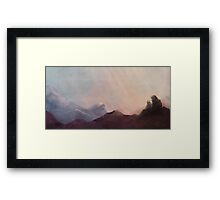 The Warm Embrace of the Final Chill Framed Print