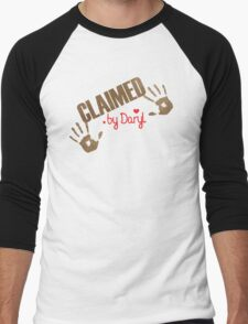 Claimed by Daryl Men's Baseball ¾ T-Shirt
