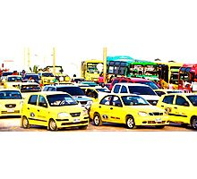 TAXI!! Photographic Print