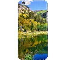 Mountain Lake in the Fall iPhone Case/Skin