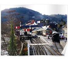 Llangollen Steam Railway Station Poster