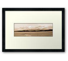 Cumbria across the Bay Framed Print
