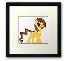 pikachu pony Framed Print