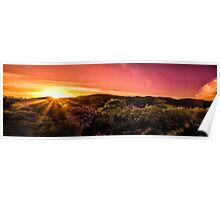High Definition Landscape Panorama Poster