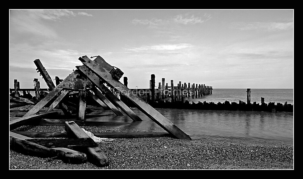 Destructive seas by Gordon Holmes