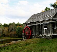 Vermont Grist mill by djphoto