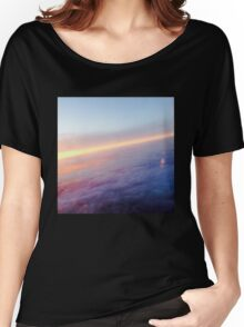 Purple Clouds  Women's Relaxed Fit T-Shirt