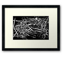 Forceps Framed Print