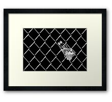 When The Water Is Gone Framed Print