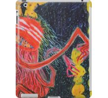 Unsatiated - A Red Lady With A Stack Of Cookies iPad Case/Skin