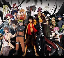 Anime Mix (3) by sinaki