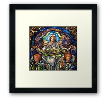 Blessed Are The Meek  For They Shall Inherit The Earth. #2 Framed Print