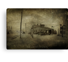 Service Station Canvas Print