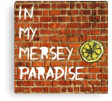 In My Mersey Paradise Canvas Print