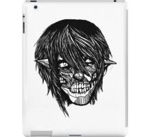 Monochrome Titan iPad Case/Skin
