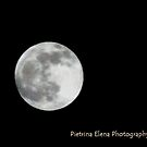 Super Moon by Pietrina Elena Photography