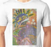 There's Death In Me Still - Abstract Portrait Unisex T-Shirt