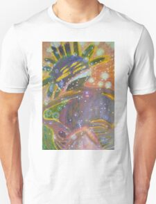 There's Death In Me Still - Abstract Portrait T-Shirt